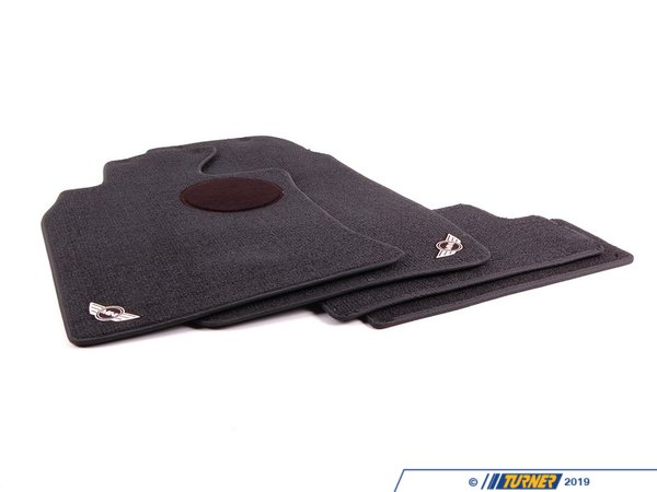 T#24810 - 82110146453 - Genuine MINI Floormat Panther Black - 82110146453 - Genuine Mini -