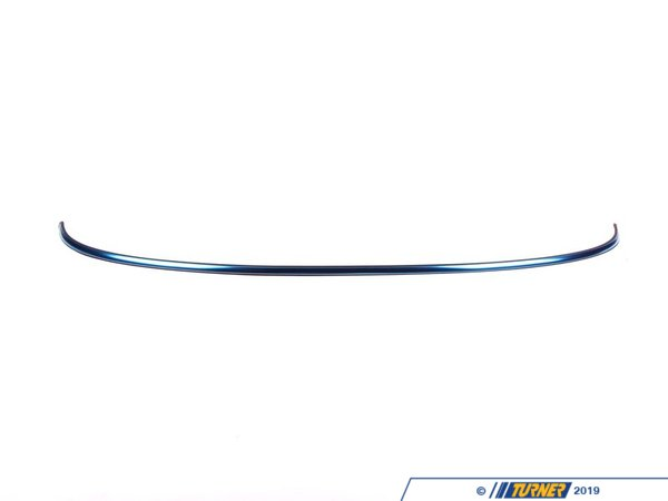 T#79681 - 51132751359 - Genuine MINI Trim Cover, Hood Chrom - 51132751359 - Genuine Mini -