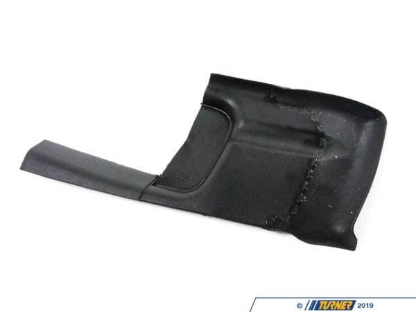 T#118448 - 51718220947 - Genuine BMW Left Water Channel Cover Schwarz - 51718220947 - E39 - Genuine BMW -