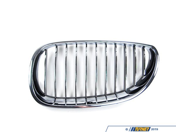 T#8689 - 51137065701 - Genuine BMW Grille Left Chrom - 51137065701,E60 M5 - Genuine BMW -