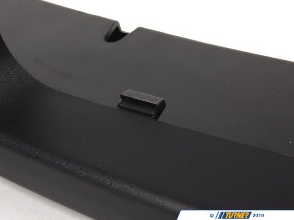 T#75938 - 51116800135 - Genuine MINI Spoiler Center Schwarz - 51116800135 - Genuine Mini -