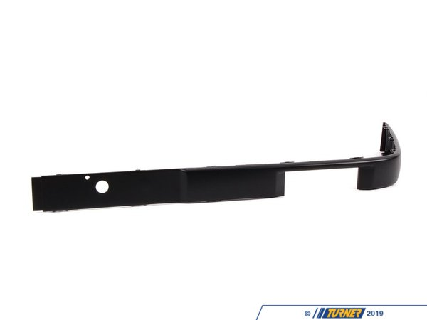 Genuine BMW Front Bumper Impact Strip- Left - E30 6/1988-1991 51111971615