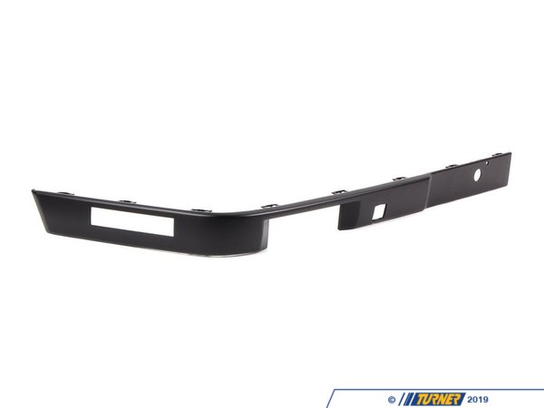 T#8318 - 51111971616 - Front Bumper Impact Strip- Right - E30 6/1988-1991 - Genuine BMW - BMW