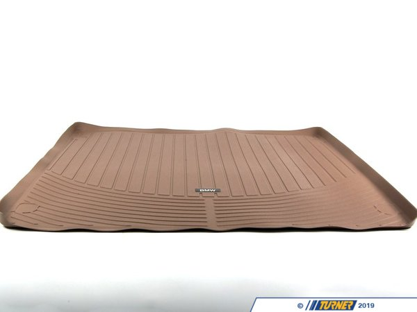 T#24843 - 82110417987 - Genuine BMW Trunkmat X5 E70 X5 Beg Rubb - 82110417987 - E70 X5 - Genuine BMW -