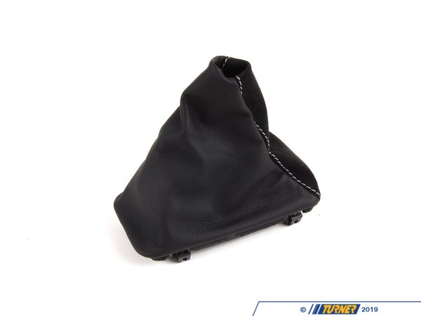 T#5102 - 25162153763 - Shift Boot - E46 323/325/328/330 (LHD) - Automatic - Alcantara - Genuine BMW - BMW