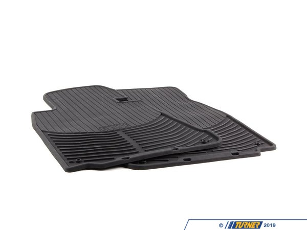 T#22115 - 82550151196 - Genuine BMW Rubber Floor Mats E39 Front - 82550151196 - E39,E39 M5 - Genuine BMW -