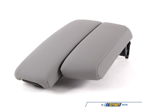 T#83699 - 51167137570 - Genuine BMW Center Arm Rest, Imitation L - 51167137570 - Grau - Genuine BMW -