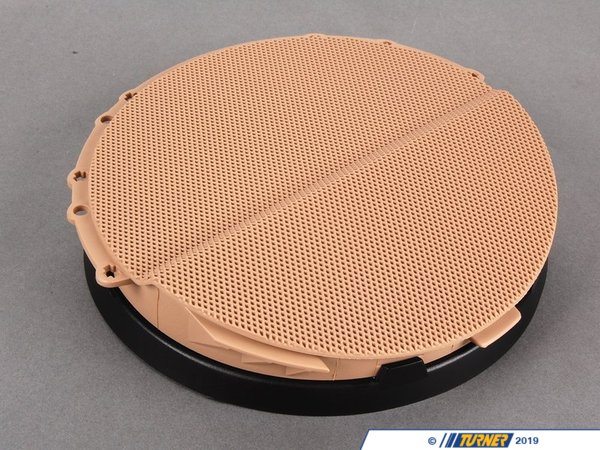 T#98385 - 51418224047 - Genuine BMW Cover Loudspeaker Left Hellbeige - 51418224047 - E46 - Genuine BMW -