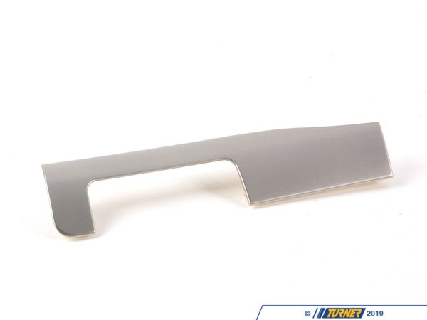 T#107309 - 51457046965 - Genuine BMW Decor Strip,titanium Ii,inst - 51457046965 - Genuine BMW -