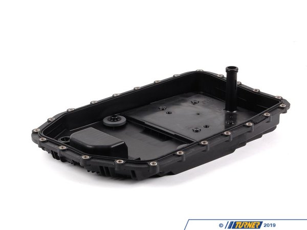 T#2934 - 24117571217 - OEM ZF Automatic Transmission Filter Kit - E82 E90 E92 E93 E60 E70 E71 E85 - GA6HP19ZAutomaticAutomatic transmissions are reliable, shift smoothly, and can last without issue so long as they are properly maintained. Over time, the transmission fluid becomes thick and the filter becomes contaminated with small metal particles. This can cause excess wear, high transmission operating temperatures,and eventual failure. To prevent this we recommend changing your filter, fluid, and seals to ensure your transmission continues to operate flawlessly. We recommend filter and fluid changes every 50,000 miles. This filter fits GA6HP19Z automatic transmissions. This will NOT fit the GA6L45R transmission. Please check your transmission to ensure it is the correct type.This kit contains:(1) Oil Pan with Filter(1) Oil Pan Gasket(1) Filter O-Ring(1) Drain PlugThis item fits the following BMWs:2008+ E82 BMW 135i2006+  E90 BMW 325i 325xi 330i 330xi 335i 335xi2011+  E90 BMW 328i 328xi2007  E92 BMW 328i 328xi2007+  E92 BMW 335i 335xi2011+  E92 BMW 328i 328xi2007+  E93 BMW 335i2011+  E93 BMW 328i2004-2010  E60 BMW 525i 525xi 528i 528xi 530i 530xi 535i 535xi2011+  F01 BMW 740i 740Li2007-2013  E70 BMW X5 3.0si X5 xDrive30i2007-2014  E71 BMW X6 xDrive35i2006-2008  E85 BMW Z4 3.0i (N52 engine) Z4 3.0si2009+ Z4 BMW Z4 sDrive30i - ZF - BMW