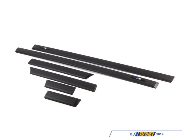 T#8656 - 51132267003 - Genuine BMW Retrofit Kit, M Moldings - 51132267003 - E36 - Genuine BMW -