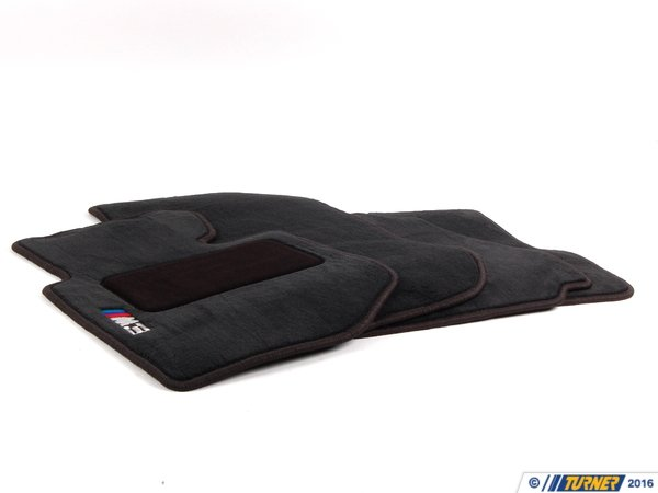 T#11390 - 82111470393 - Genuine BMW Floormat M3 Black - 82111470393 - E36 - Genuine BMW -