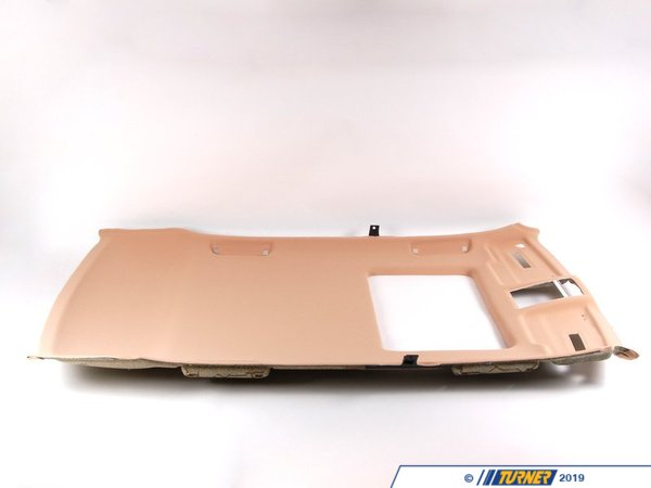 T#106355 - 51448182898 - Genuine BMW Molded Headlining F Sliding - 51448182898 - Sandbeige - Genuine BMW -