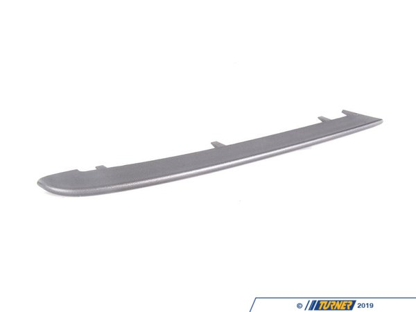 T#8384 - 51117134093 - Genuine BMW Finisher, Rod, Left Schwarzsilber - 51117134093 - E90 - Genuine BMW Finisher, Rod, Left - SchwarzsilberThis item fits the following BMW Chassis:E90 - Genuine BMW -