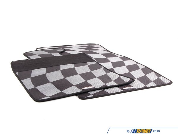 T#24065 - 51470441800 - Genuine MINI Floormats 'sport' Front Jcw - Lhd - 51470441800 - Genuine MINI -