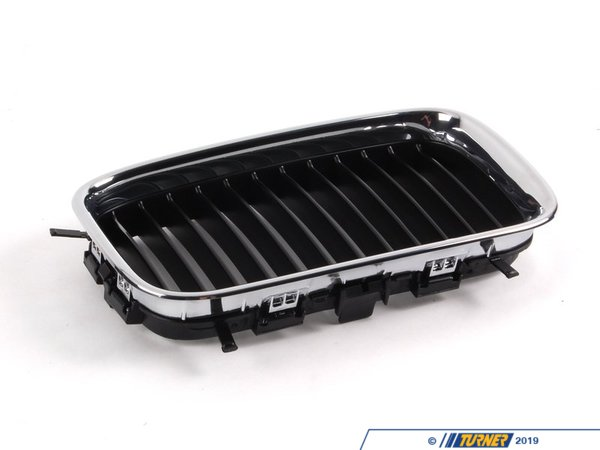T#8704 - 51138122238 - Kidney Grill - Chrome - Right - E36 318i 325i M3 92-96 - Genuine BMW - BMW