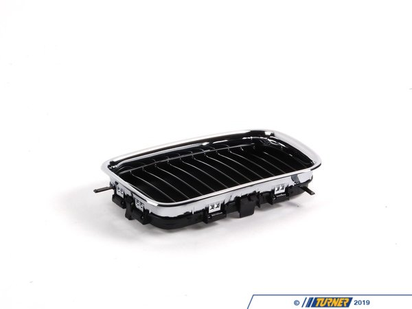 T#8703 - 51138122237 - Kidney Grill - Chrome - Left - E36 318i 325i M3 92-96 - Genuine BMW - BMW