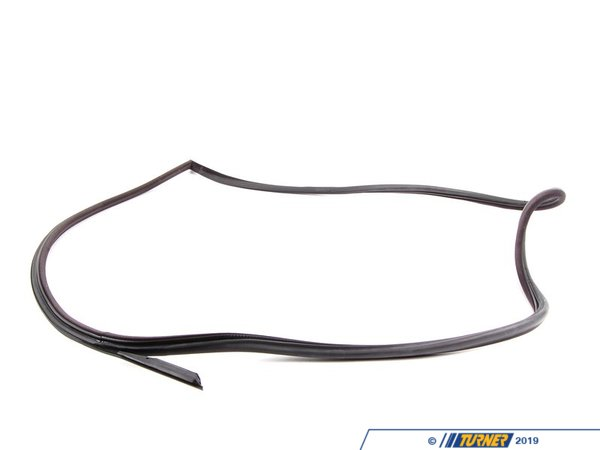 Genuine BMW Right Door Gasket - Black - E36 318is 325is 328is M3 Coupe 51712138958