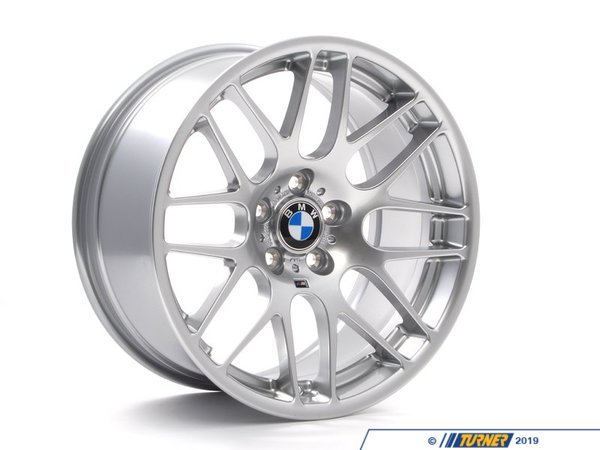 "T#12763 - 36112282999 - Genuine BMW E46 M3 M cross spoke 163 Wheel - 9.5""x19"" - 36112282999 - Genuine BMW -"