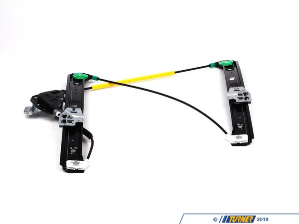 Genuine BMW Genuine BMW Front Window Regulator - Left - E46 323i 325i 325xi 328i 330i 330xi 51337020659