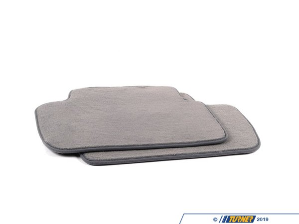 T#24797 - 82110026590 - Genuine BMW Floor Mats E-46 Ix Grey - 82110026590 - E46 - Genuine BMW -