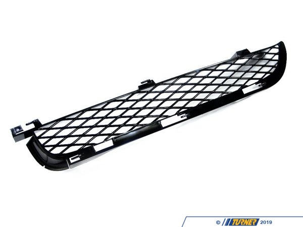 T#76150 - 51117116398 - Genuine BMW Grid Upper Part Right Schwarz - 51117116398 - E53 - Genuine BMW -