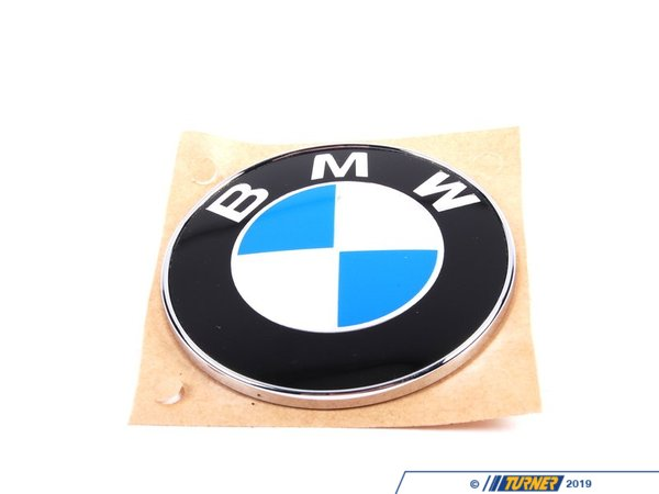 Genuine BMW BMW Trunk Emblem - E36 51148164924