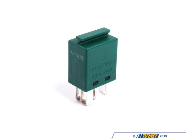 T#16220 - 61366980177 - Relay - Green - 5 prong - Genuine BMW - BMW