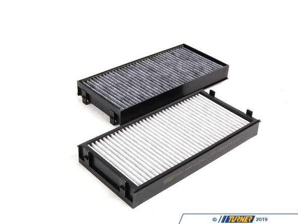 T#5620 - 64119248294 - OEM Mann Activated Carbon Cabin Air Filter - Pair - E70 X5 E71 X6 2007+ - Mann - BMW