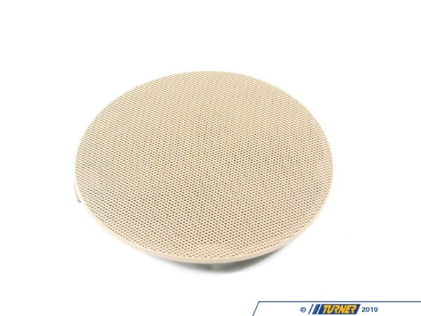 T#98411 - 51418224388 - Genuine BMW Cover Loudspeaker Right Hellbeige - 51418224388 - E46 - Genuine BMW -