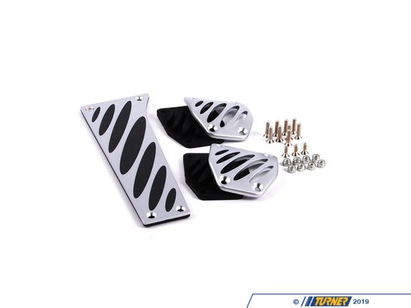 T#4078 - 35002213213 - BMW Performance Aluminum Pedal Set - Manual/SMG/DCT Transmission - Genuine BMW - BMW