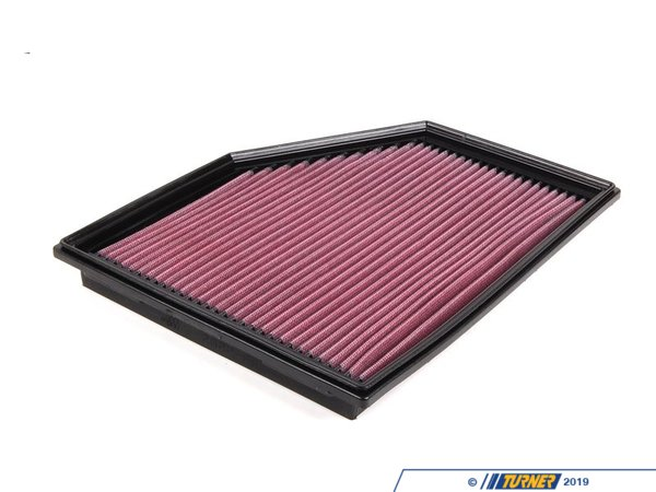 T#2144 - 33-2292 - K&N Performance Drop-In Air Filter - E60 525i 525xi 528i 528xi 530i 530xi - Z4 Z4 M Roadster Z4 M Coupe - K&N's drop-in air intakefilter is constructed from cotton gauze material between aluminum mesh - this makes for a long lasting, high performance drop-in intake filter. These are very easy to remove and maintain. Turner Motorsport recommends this as one of the first maintenance/modifications you make to your vehicle after you purchase!K&N's drop in air filters allow increased airflow - dirt and particles stick to the oil on these filters, making them more effective than traditional paper filters in terms of protection. Additionally, K&N believes their filters are more efficient than paper filers - this means more oxygen getting into the engine, allowing vaporized fuel to burn more efficiently and increasing horsepower and fuel economy. The best of both worlds!This item fits the following BMWs:2004-2010  E60 BMW 525i 525xi 528i 528xi 530i 530xi2006-2008  E85 BMW Z4 M Roadster Z4 M Coupe - K&N - BMW