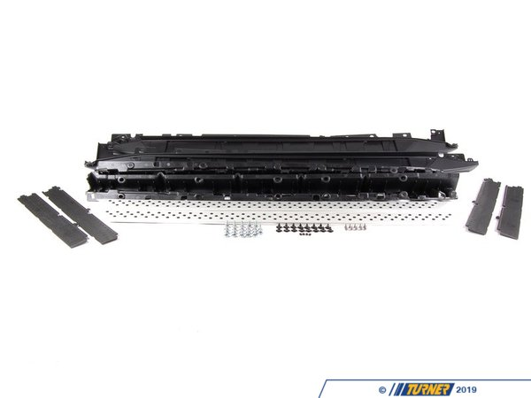 T#116189 - 51710421781 - Genuine BMW Retrofit Kit, Aluminium Footboard - 51710421781 - E70 - Genuine BMW -