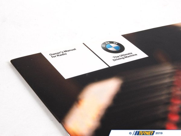 T#26343 - 01410012341 - Genuine BMW Operating Instructions, Radi - 01410012341 - Genuine BMW -