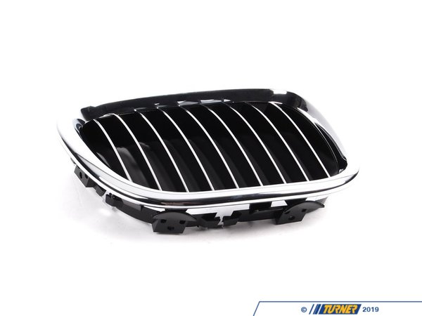 Genuine BMW Kidney Grill with Chrome Slats - Right - Z3 1997-2002 51138412950