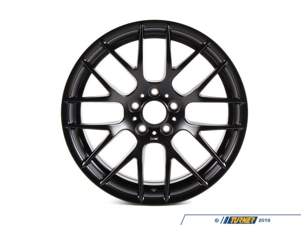 "T#12764 - 36112284150 - Genuine BMW E9X M3 GTS Wheel - Black - Front - 19x9"" - Genuine BMW - BMW"