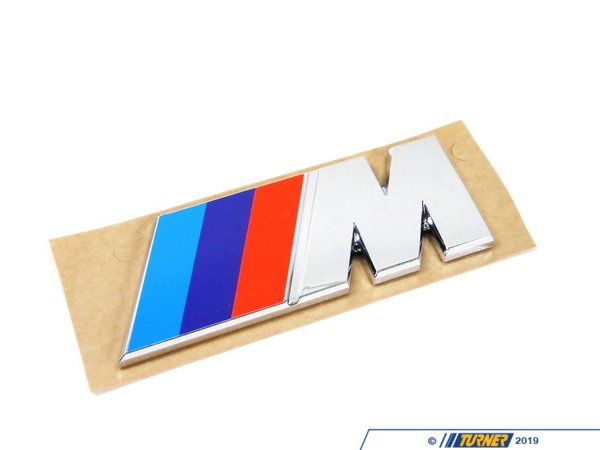"T#8834 - 51141917739 - Genuine BMW Letter ""M"" Rear - 51141917739 - E30,E34,E38,E30 M3 - Genuine BMW -"