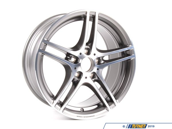 T#5172 - 36116787646 - Genuine BMW Performance Wheel Style 313 - 18x8.5 - E82 128i 135i - Genuine BMW -