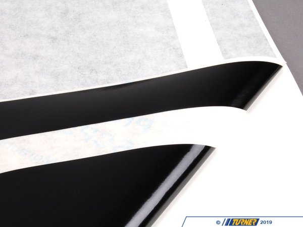 T#80901 - 51142184351 - Genuine MINI Set, Side Stripes, Black Body Kit - 51142184351 - Genuine MINI -