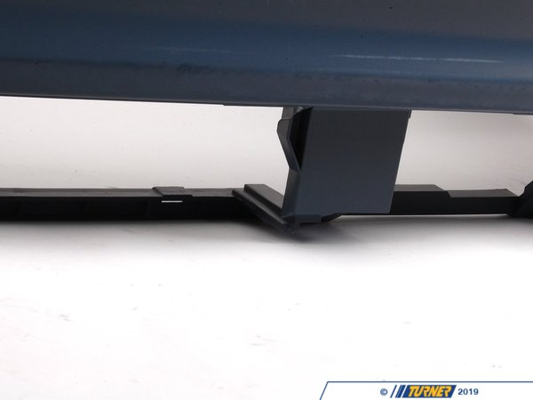 T#13706 - 51127893071 - Genuine BMW Bumper Trim Panel, Primered, Rear M - 51127893071 - E46 - Genuine BMW -