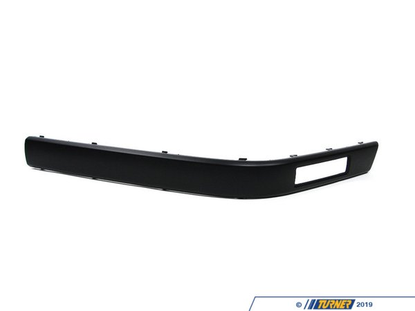 Genuine BMW Genuine BMW Front Bumper Impact Strip - Left - E34 525i 530i 535i 540i M5 51111934335