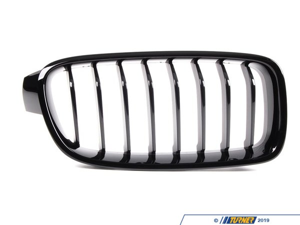 T#24207 - 51712240778 - Genuine BMW Front Trim Grill, Black, Right - 51712240778 - F30 F31 - Genuine BMW - BMW