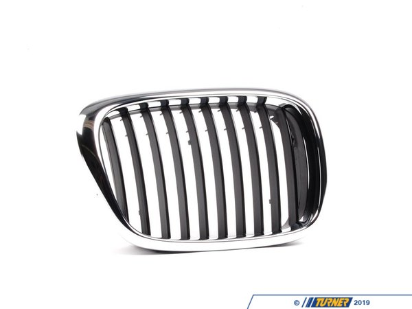 T#79795 - 51137005838 - Genuine BMW Grille Right Schwarz - 51137005838 - E39 - Genuine BMW -