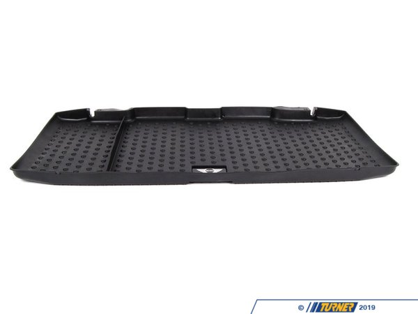 T#24056 - 51470415024 - Genuine MINI Fitted Luggage Compartment Mat Mini Logo - 51470415024 - Genuine Mini -