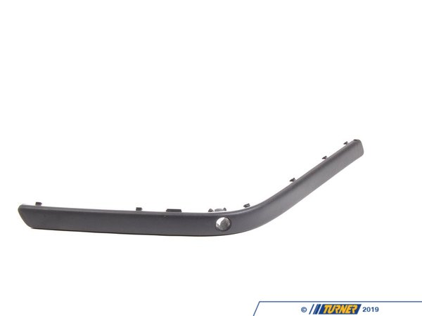 Genuine BMW Genuine BMW M5 Rear Bumper Rub Strip - Left - E39 51122498501