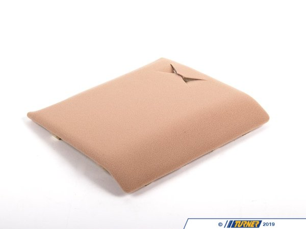 Genuine BMW Genuine BMW Sunroof Motor Cover - Beige - E46 323Ci 325Ci 328Ci 330Ci 51448233453