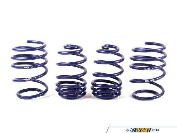 T#4106 - TMS4106 - H&R Sport Spring Set - E46 Coupe with Sport Suspension - H&R - BMW