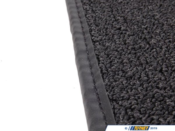 T#24834 - 82110396133 - Genuine MINI Floormat Black - 82110396133 - Genuine Mini -