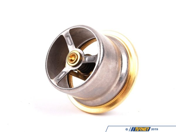 T#3 - 11531417215 - Thermostat 55C - E46 M3 - E46M3 Motorsport Thermostat 55C (Also fits Euro E36 M3 engine) A Genuine BMW part this thermostat opens at a much lower temperature than stock to keep your S54 engine (or Euro S50/S52 engine) running cooler in race applications. - Genuine BMW Motorsport -