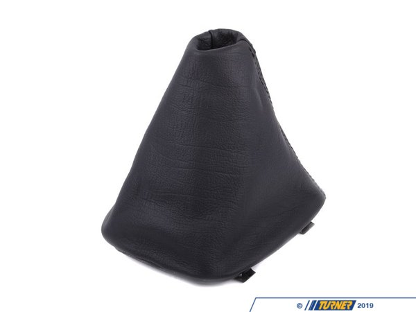 T#52565 - 25111221885 - Genuine BMW Leather Boot Bison Schwarz - 25111221885 - E34 - Genuine BMW -